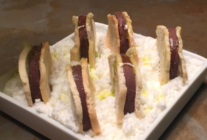 Pan con chocolate y aceite, SOT, La Vermutería de Sergi Arola