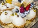 Tarta de Baileys con base de bizcocho y crunch con chocolate blanco, Pastelerías Lyon