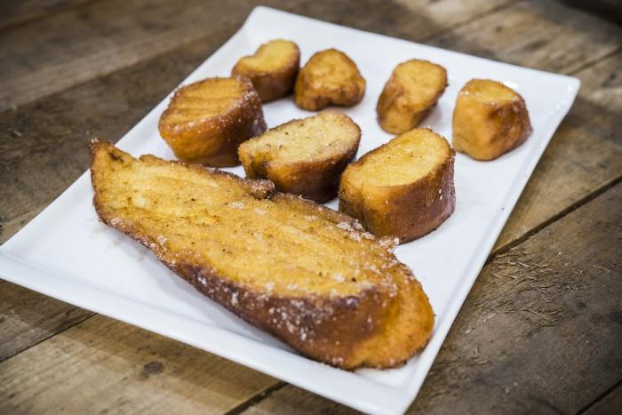 Torrijas de azúcar en 3 tamaños, Pastelerías Lyon