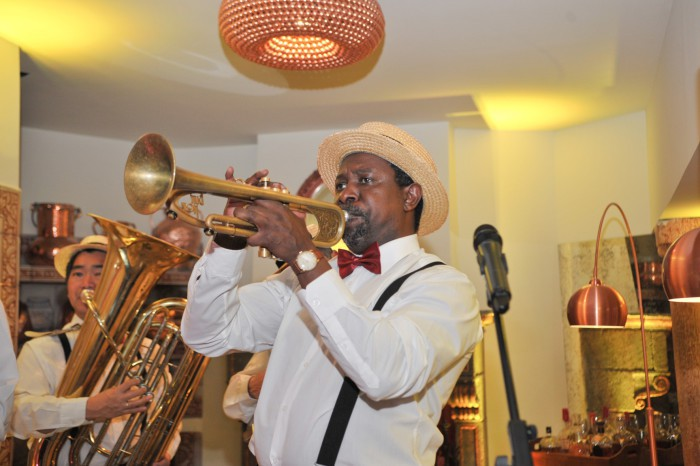A ritmo de jazz 1