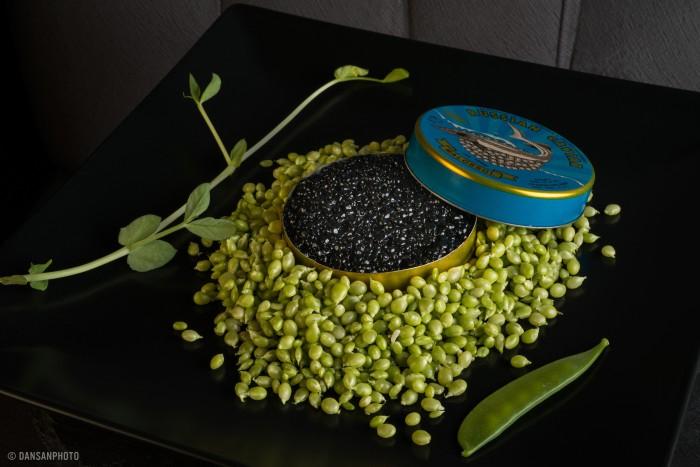 Dúo de caviar tierra y mar - Floren Domezain