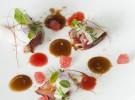 Oreja en su jugo, hierbas y pez mantequilla_Regueiro