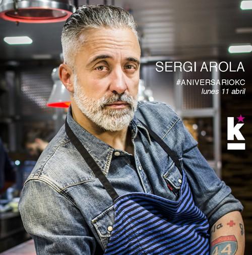 Sergi Arola profe Curso Magistral 11 de abril Kitchen Club