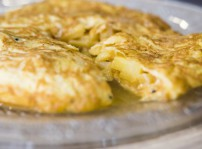 Tortilla de patatas 5C jugosona, 5 Cucharas