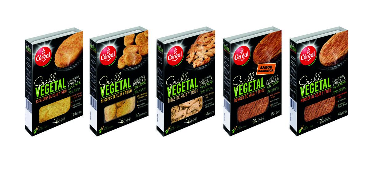 Céréal Grill Vegetal y no te confundas