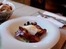 Huevos benedictine con bacon 1