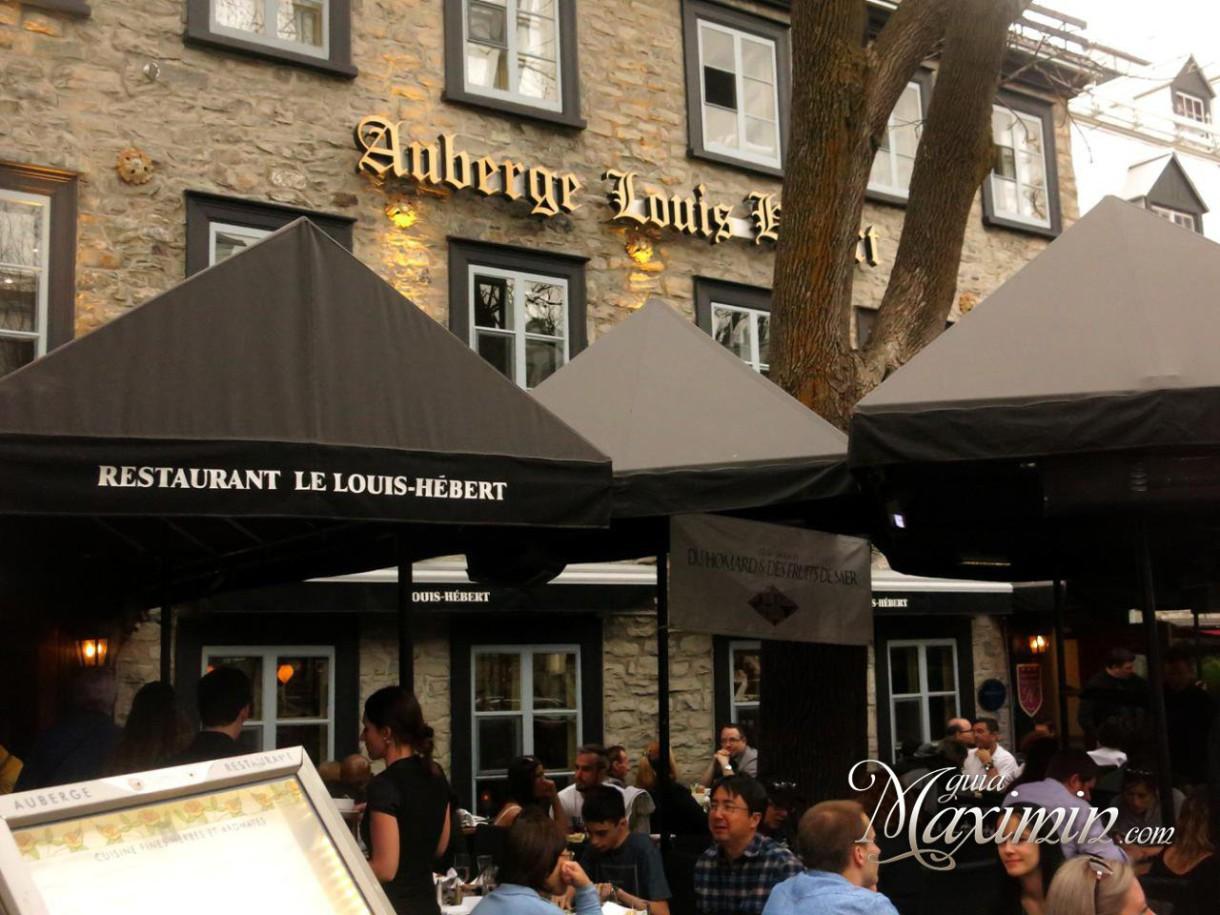 Restaurant Louis Hebert (Quebec-Canadá)