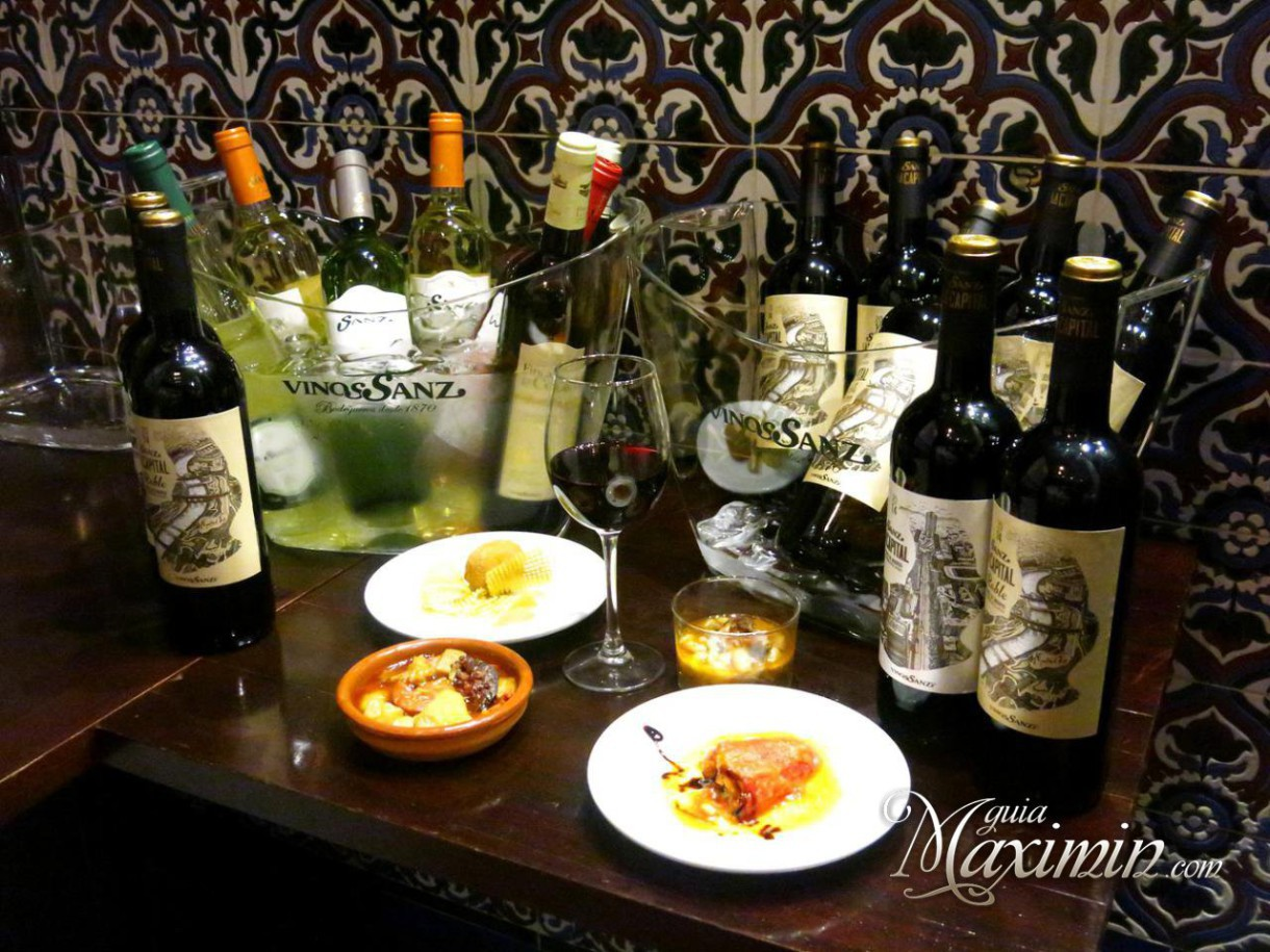 Vinos Sanz presenta La Capital Roble vinos de Madrid