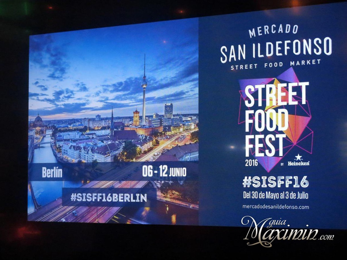 Street Food Fest recibe a Berlín (Madrid)