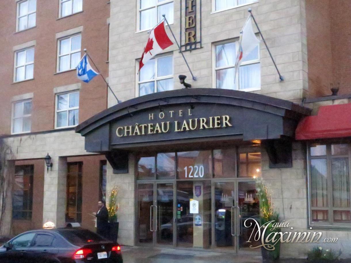 Desayuno del Hotel Château Laurier (Québec-Canadá)