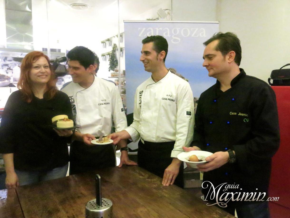 Presentación de la edición XXII del concurso de Tapas de Zaragoza