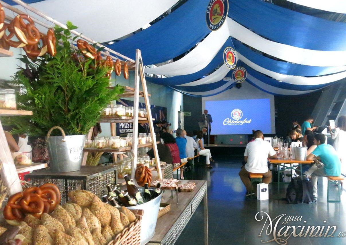 El Oktoberfest más auténtico llega a Madrid