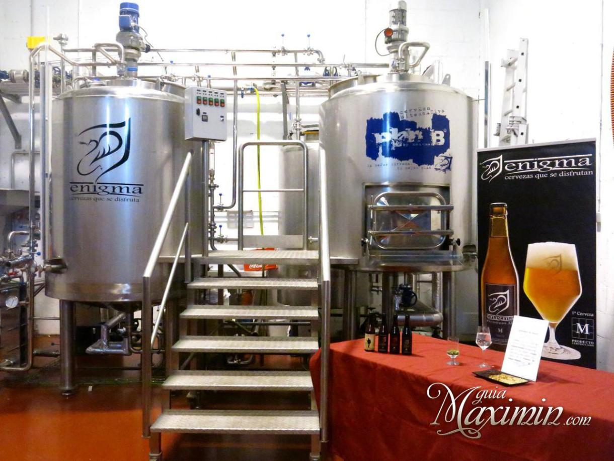 Cervezas Enigma, cervezas para disfrutar (Alcalá de Henares – M)