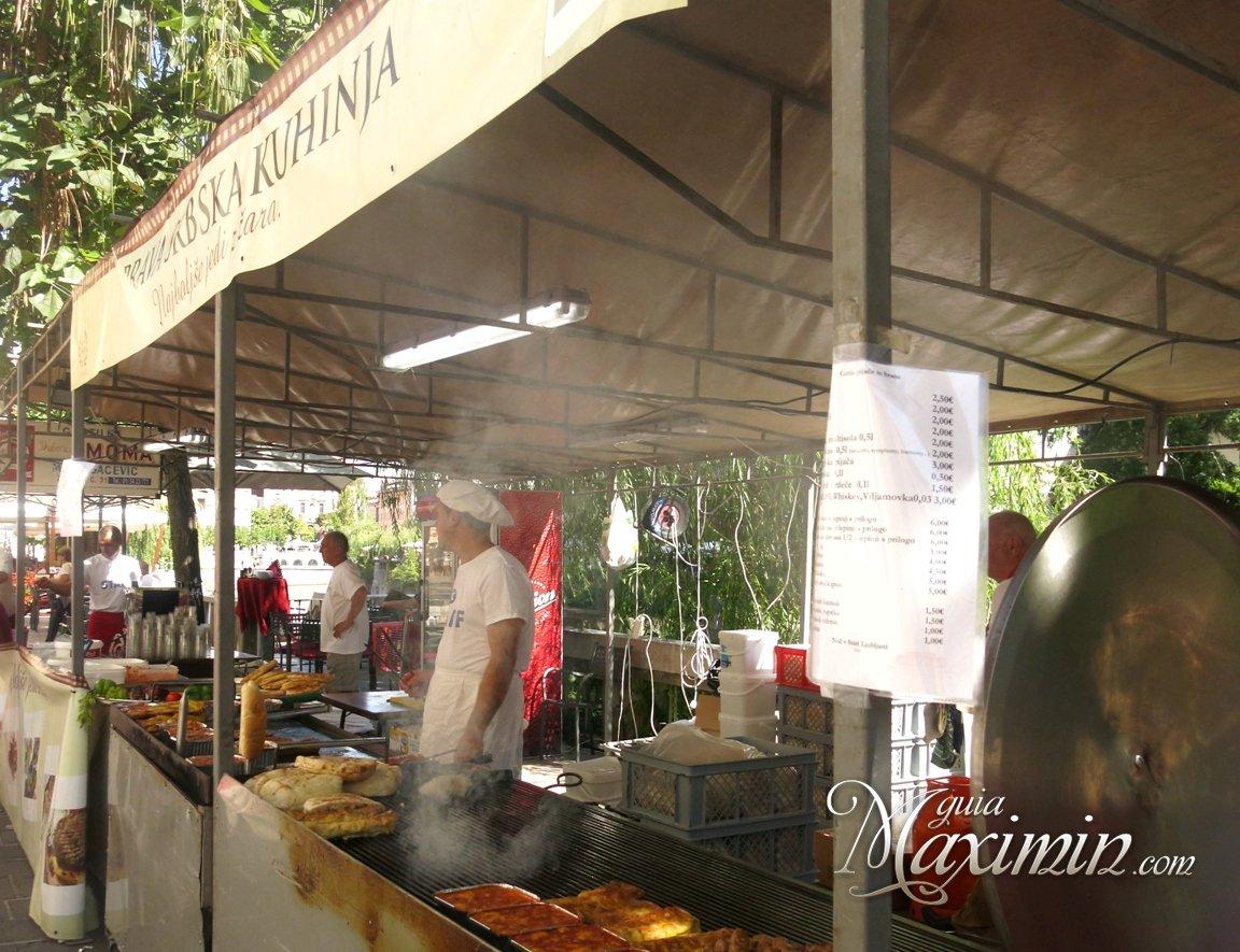 Comida callejera en Croacia y Eslovenia