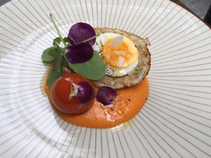 Scotch egg a la andaluza, La Malaje