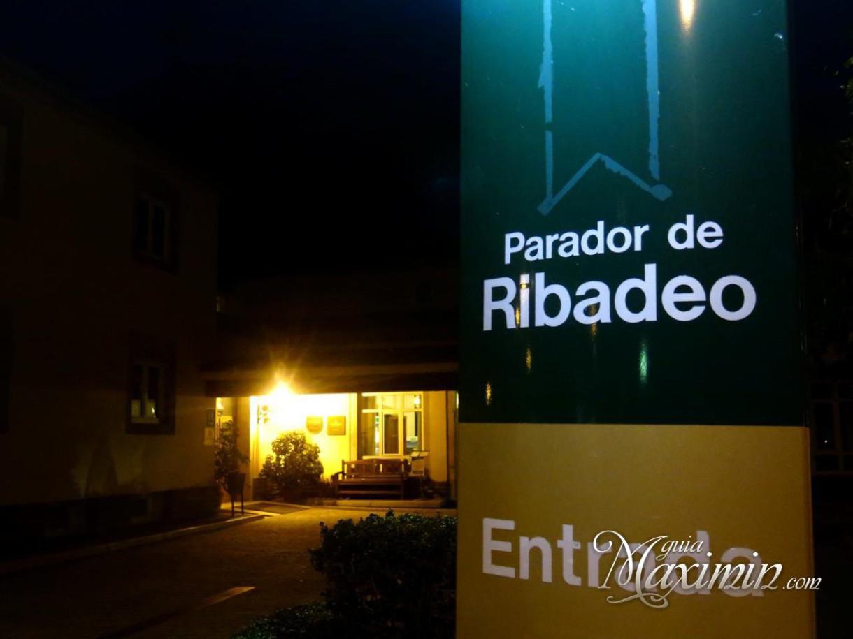 Desayuno en el Parador de Ribadeo (Lugo)
