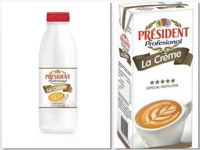 leche President la creme