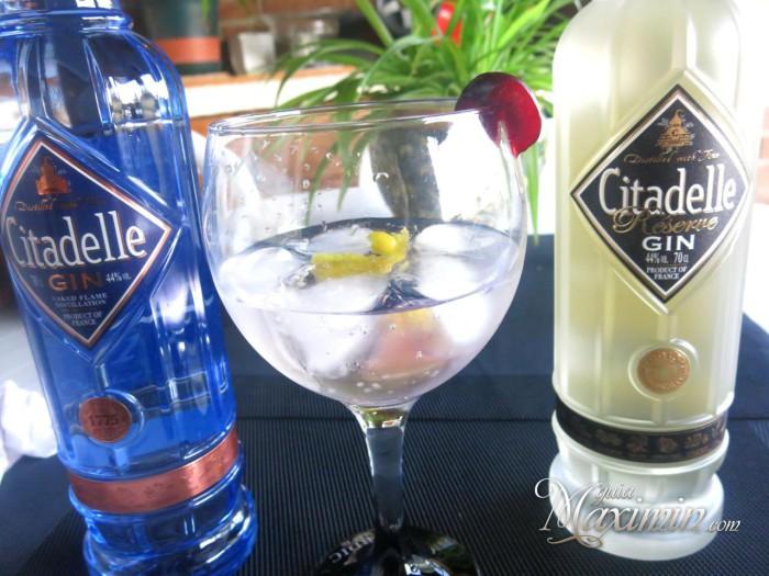 Gin&Tonic Citadelle: Un dúo delicioso
