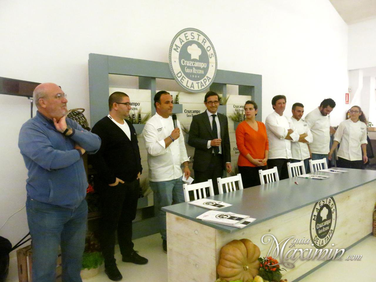 Final de la 3 edici n del concurso maestros de la tapa for Concurso para maestros