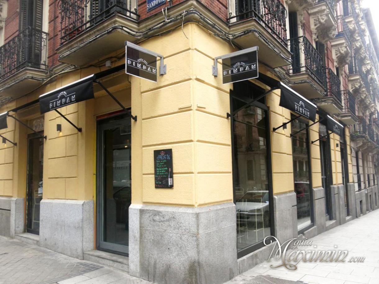 Pim Pam un gastrobar desenfadado (Madrid)