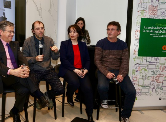 Presentación Global Kitchen con Santiago Alfonso, Juli Capella, Anabel Rodríguez y Andoni Luis Auriz