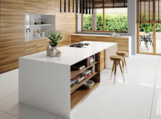 Silestone Kitchen - Iconic White