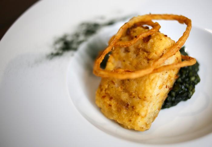 Lingote de bacalao frito con arroz cremoso de plancton_Lubora (4)