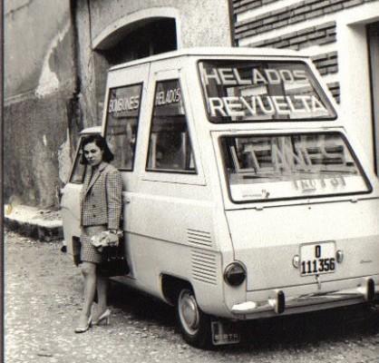 Revuelta furgoneta de los sesenta