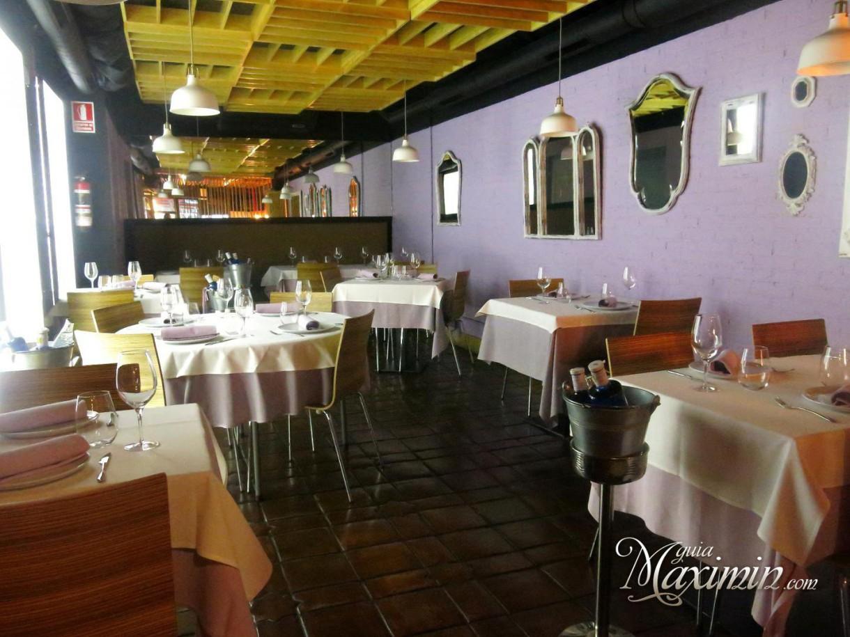 Disfrutando de la cocina de Marcano (Madrid)