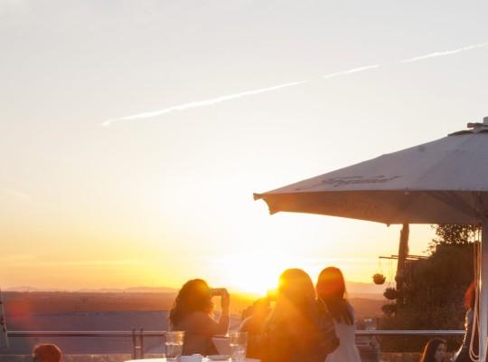 Puesta de sol  -  Sunset Lookers Hotel Santo Domingo