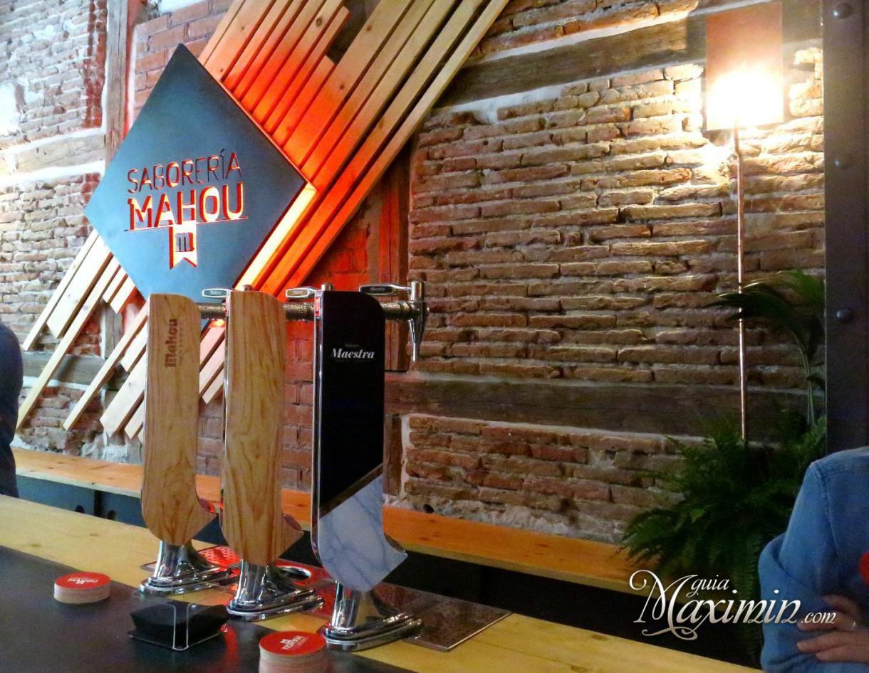 La calle Genova se llena de sabor con la Saborería Mahou