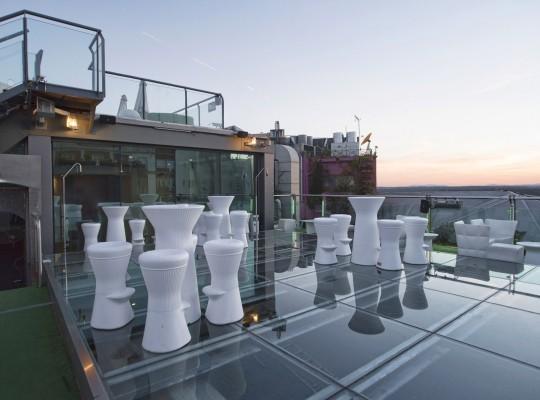 Terraza Sunset Lookers - Hotel Santo Domingo