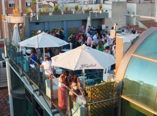 Vista aérea - Sunset Lookers Hotel Santo Domingo