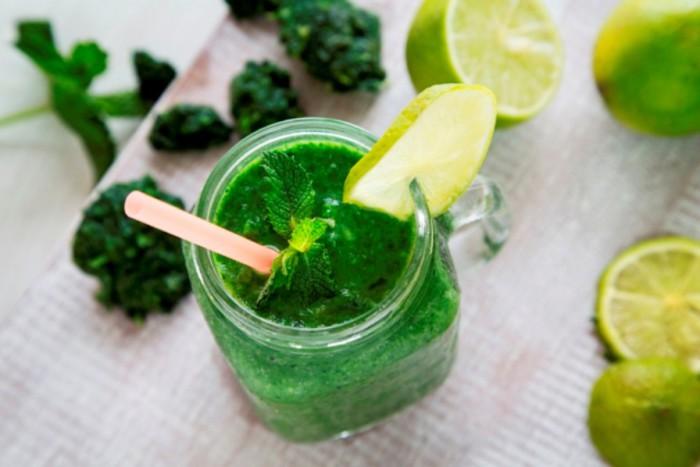 Granizado verde