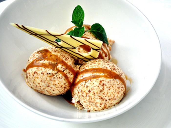 Helado de pan de centeno - Gaztelupe