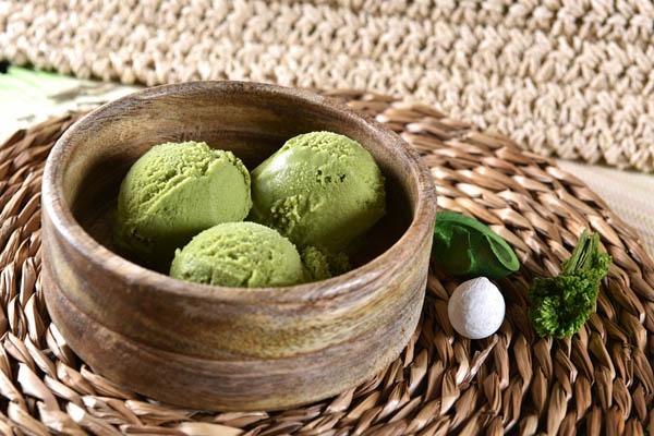 Helado de té verde - Ramen Shifu