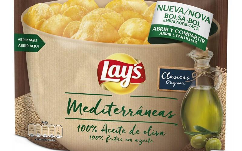 Lay´s Mediterráneas, el auténtico sabor con aceite de oliva