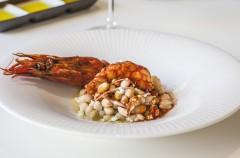 Sargo cocina mediterránea de mercado (Madrid)