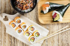 Go Sushing para disfrutar de comida asiática donde desees