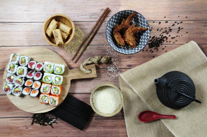 Alitas de pollo, Rollitos Nem Royal y bandeja Party, nuevos platos de Go! Sushing