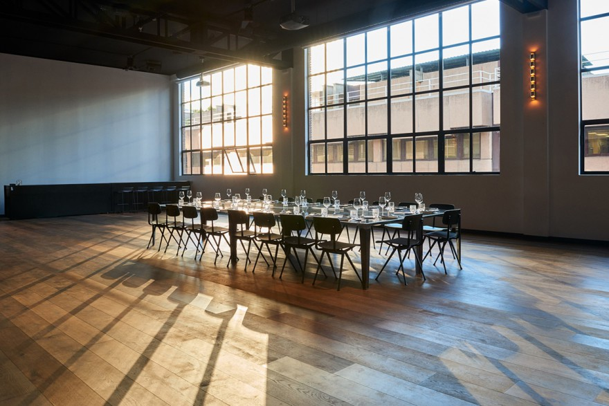 Mesa única con ventanal, Kitchen Club Orense m