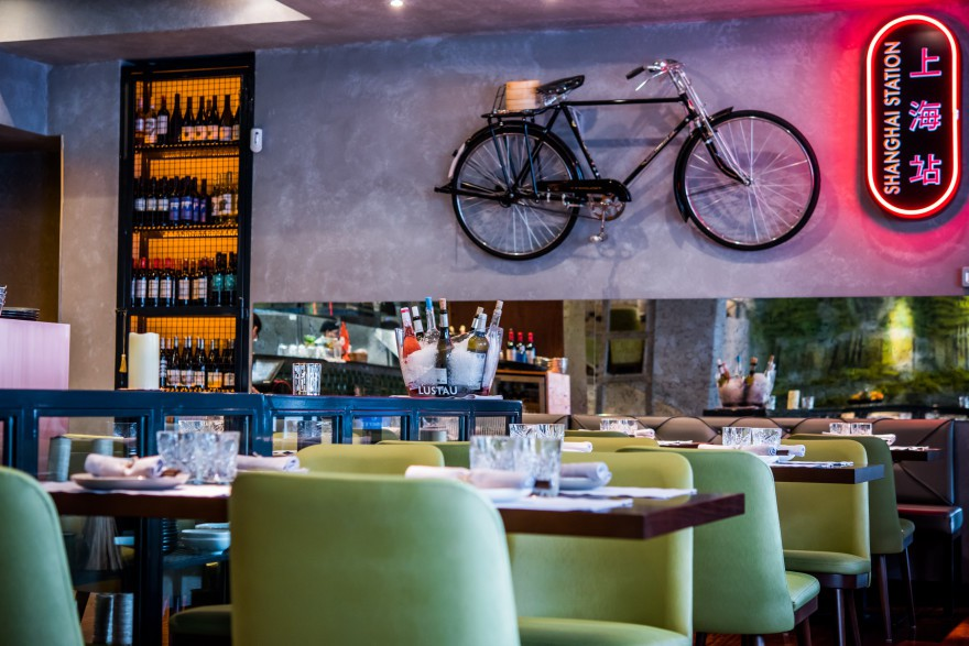 Sala con bicicleta - Shanghai mama