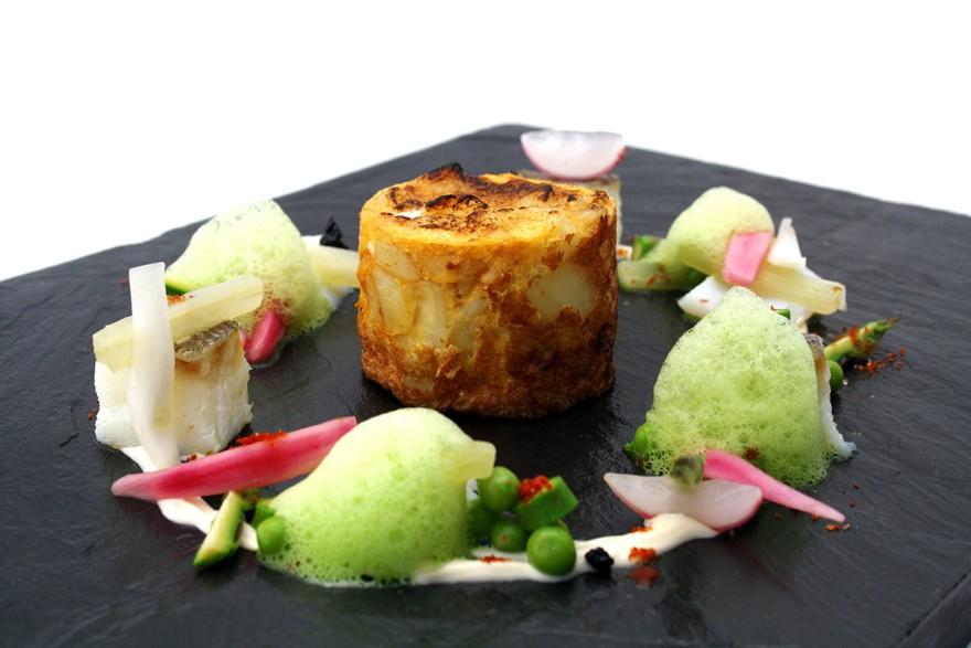 Tortilla de bacalao _Castru El Gaiteru