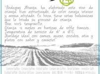 Etiqueta Nueva Añada Edulis, Altanza.ap