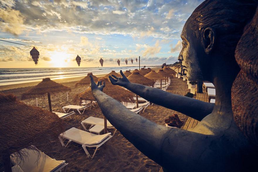 Esculturas. Atenas Playa