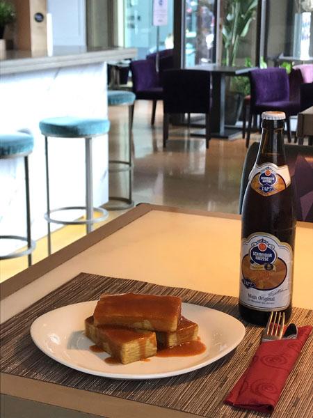 Bravas Con Cerveza Alemana Schneider Weisse Kristall La Barra De Sandó