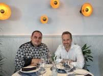 El Chef Borja Segura Y El Fundador Jesús González Espartero, Alma Of Spain