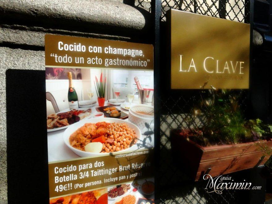 La Clave Cocido Madrileno Guiamaximin24