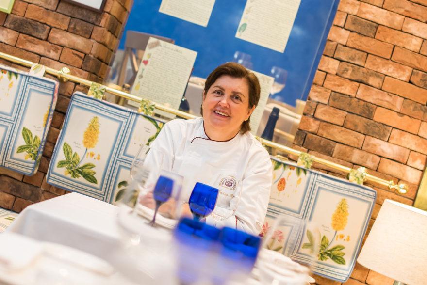 María Luisa Banzo, Cocinera Y Propietaria De La Cocina De María Luisa