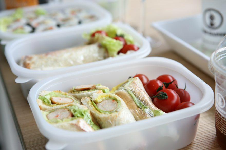 Sandwich Comida Viaje